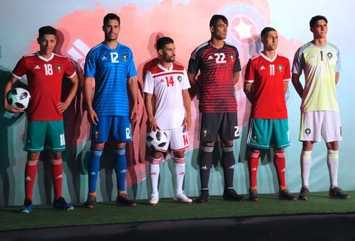 رسميا.. الجامعة تكشف عن قميص المنتخب المغربي في مونديال روسيا