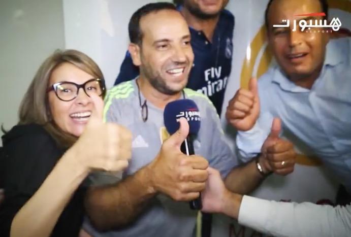 احتفالات مغاربة بتتويج الريال