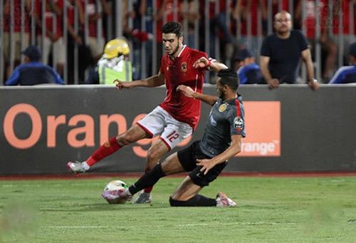 أزارو ينقذ الأهلي المصري من الهزيمة أمام الترجي ويبصم إسمه في دوري الأبطال