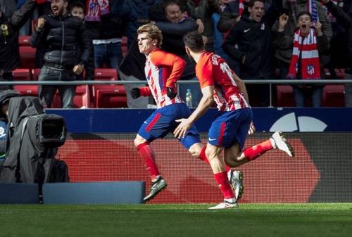 أتلتيكو مدريد يعبر سيلتا فيغو بثلاثية ويعزز وصافته للدوري الإسباني