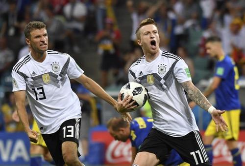 كروس يلدغ السويد بهدف قاتل وينعش حظوظ ألمانيا في كأس العالم