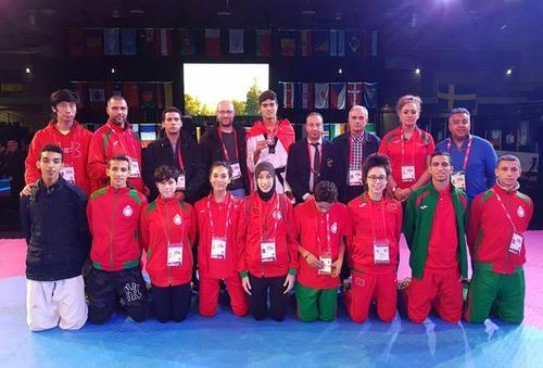 """التايكواندو المغربي الأول قاريا والـ12 عالميا في بطولة العالم للشباب """"بورنابي2016"""""""