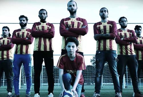 سيريانا.. فريق لاجئين يحلم بالتألق بين أندية كرة القدم البلجيكية