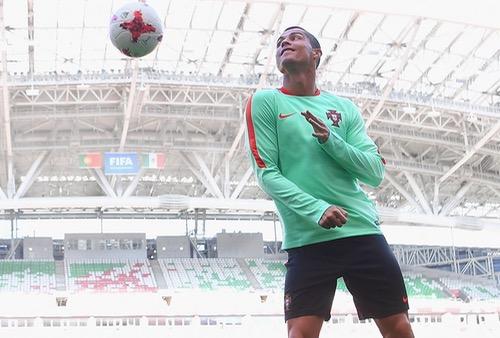 رونالدو يغيب عن المؤتمر الصحفي رغم حصوله على لقب أفضل لاعب في المباراة