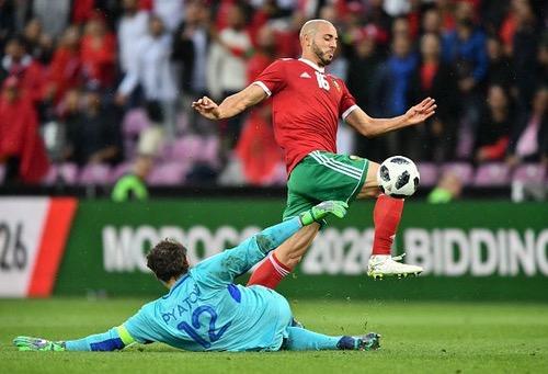 الإعلام الإسباني يُسلط الضوء على ودية المغرب وأوكرانيا ويشيد بزياش وأمرابط