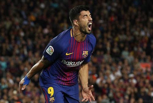 لويس سواريز أسرع لاعب في تاريخ برشلونة يدخل نادي الـ100 في الليغا