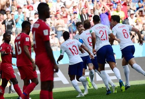 """""""أسطول الإنكليز"""" يجتاز """"قناة بنما"""" بسداسية تاريخية في كأس العالم بروسيا"""