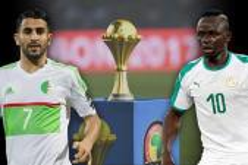 "نهائي الأحلام في ""الكان"".. جزائر ""محرز"" ضد سنغال ""ماني"""