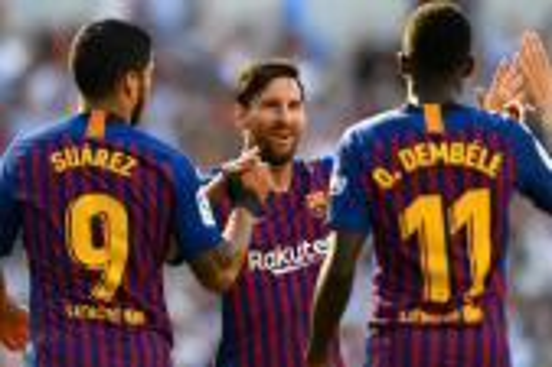 برشلونة بميسي يبحث عن أول فوز في الدوري الإسباني أمام بيتيس