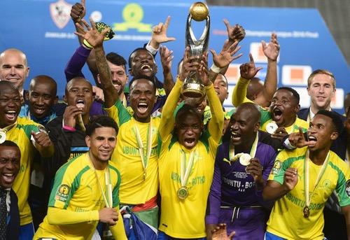صن داونز الجنوب إفريقي يَفوز بدوري أبطال إفريقيا على حساب الزمالك المصري