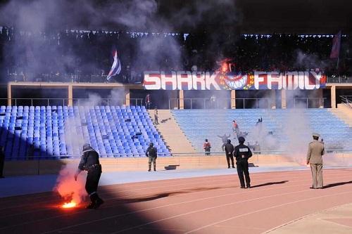 أولمبيك آسفي يرفُض تعويض خسائِر الملعب ويطالب بمتابعة المتورطين
