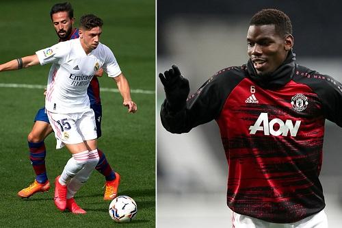 صفقة تبادلية تلوح في الأفق بين فريقي ريال مدريد ومانشستر يونايتد
