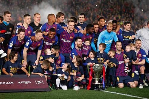 برشلونة يهيمن على أبرز ملامح موسم الليغا المنقضي طولا وعرضا