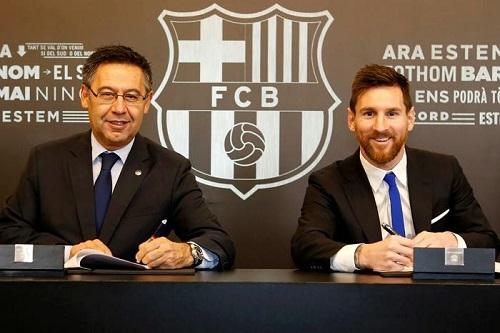 بارتوميو: لست قلقا على مستقبل ميسي وسيتيين سيستمر ببرشلونة