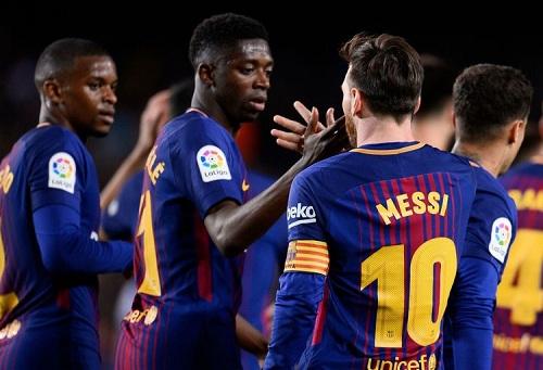 """برشلونة يكسِر رقماً دام 38 سنة ويَقترِب من تجاوز """"عَتَبة"""" سوسيداد القياسية"""
