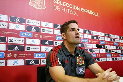 مورينو مدرب إسبانيا: نتطلع للفوز بالمباريات الثلاث المتبقية في المجموعة