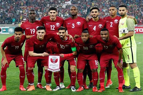 المنتخب القطري يختتم تحضيراته لمواجهة باراغواي