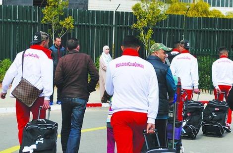 مولودية وهران يحط الرّحال بالمغرب مُكتمل الصّفوف تأهبا لـ KACM
