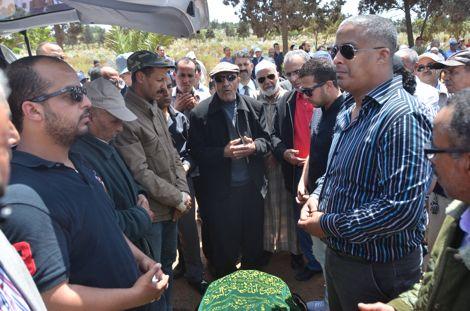 تشييع جثمان محمد بوعبيد أحد رواد الصحافة الرياضية بالمغرب