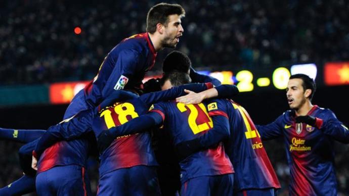 التشكيلة الرسمية لبرشلونة ضد باريس