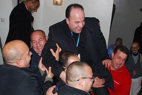 انتخاب أوراش رئيسا لجامعة السلة وأوزين أول المهنئين
