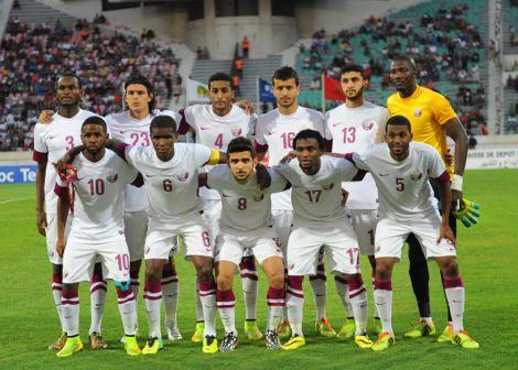هزيمة قطرية من بيرو بهدفين وديا