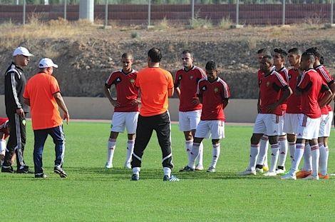 """""""الأسود المحلية"""" تستعد لـ""""الشان"""" بمعسكر إعدادي في مراكش"""
