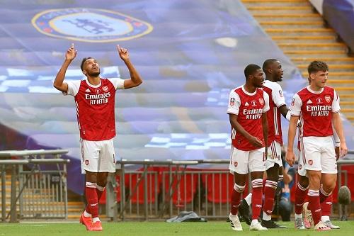 أوباميانغ يقود أرسنال للفوز على تشيلسي والتتويج بلقب كأس الاتحاد الإنجليزي