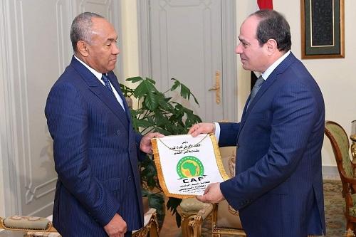 السيسي: سنوفر كل شيء.. مصر حريصة على إنجاح بطولة أمم إفريقيا