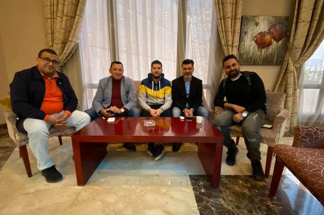 إدارة المصري تزور بعثة بركان.. والأخير يواصل استعداداته للمواجهة