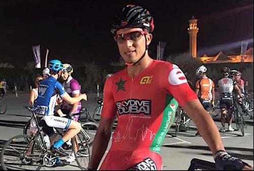 """سفيان حدي: أطمح إلى المشاركة في """"طواف فرنسا"""". .والنجاري أستاذ الدراجة"""