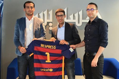 """""""هسبورت"""" توقع اتفاقية شراكة وتعاون مع مدرسة برشلونة بالمغرب"""