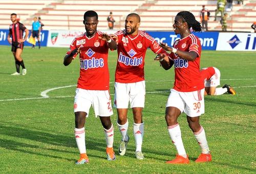 الوداد يفوز على المغرب التطواني بثنائية ويستعيد صدارة البطولة من الـ IRT