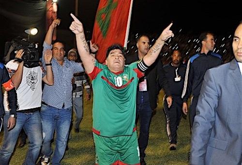 """مارادونا: لن أتردّد في مُناقشة عرض للتّدريب بالمغرب.. وتأهّل """"الأسُود"""" للمونديال مُمكن"""