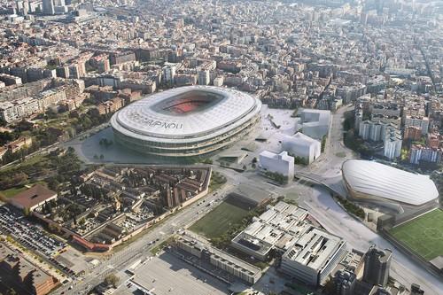 """برشلونة يكشف عن خطط لتطوير """"الكامب نو"""" بـ 360 مليون يورو"""