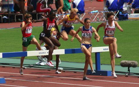 كوبورن تفوز بسباق 3 آلاف متر موانع في بطولة القارات