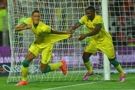 بامو يَهزّ مرمى Caen ويَبلُغ هدفه الثالث في الدوري الفرنسي