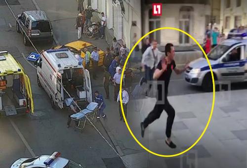 القبض على السائق الذي دهس مشجعين في موسكو