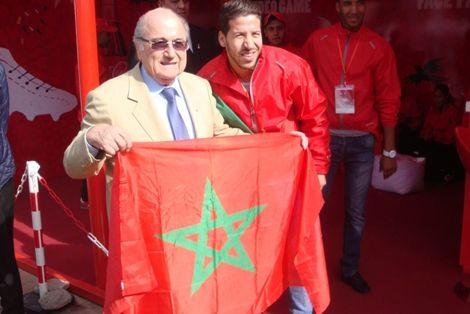 بلاتر: أتمنى الاستمتاع بكرة قدم جميلة في مراكش