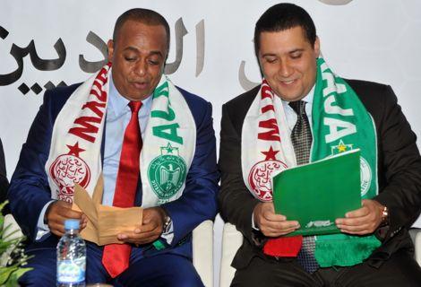 """الوداد يتضامَن مع الرّجاء بعد """"اعتداءات"""" وفاق سطيف بالجزائر"""