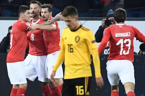 سويسرا تقسو على بلجيكا بخماسية في دوري الأمم