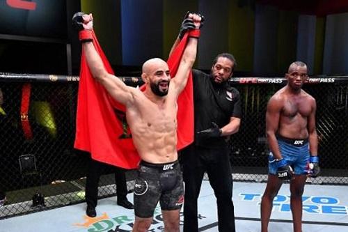 """مدير أعماله: """"""""UFC"""" قررت التراجع عن فصل عثمان زعيتر من المنظمة"""""""