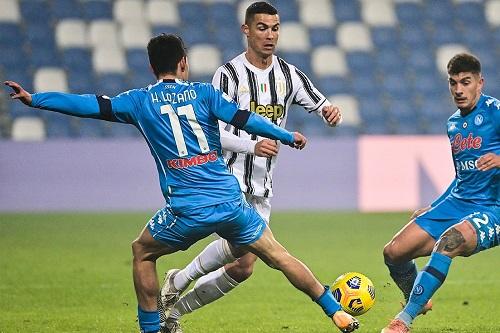 رونالدو يقود يوفنتوس للقب السوبر الإيطالي على حساب نابولي