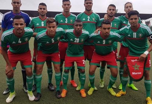 المنتخب المغربي للشبان يبلغ نهائي الألعاب الفرانكوفونية بعد الفوز على الكونغو
