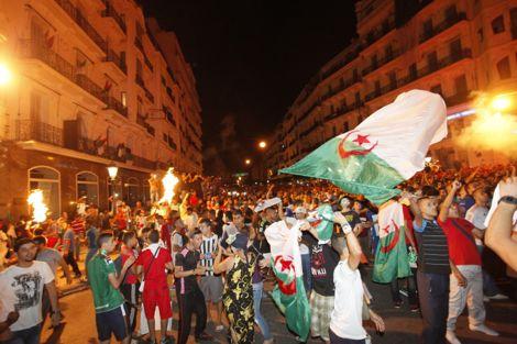 انتحار جزائري أثناء احتفالات التأهل بالمونديال غربي البلاد