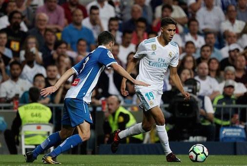 """حكيمي و""""موحا"""" ضمن قائمة ريال مدريد لمواجهة إيبار"""