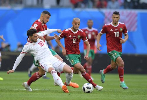 الدراجي: المغرب لم يكن سيئاً أمام إيران