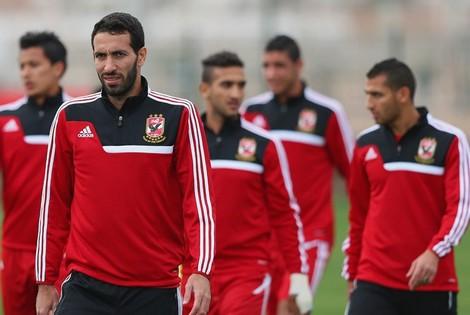 """لاعبو """"الأهلي"""" يخضعون لاختبار """"كشف المنشطات"""" في المغرب"""