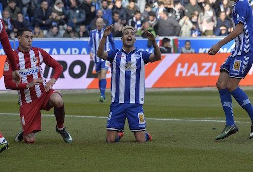 أتلتيكو مدريد ينجو من فخ ألافيس بالليغا