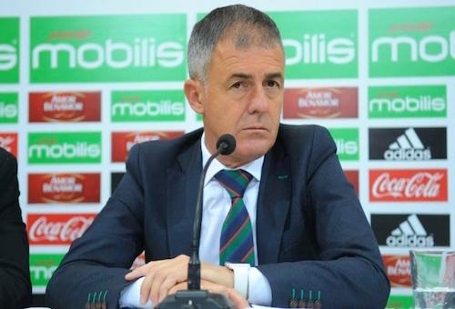 الاتحاد الجزائري يدفع راتب 6 أشهر للمدرب الإسباني ألكاراز لفسخ عقده